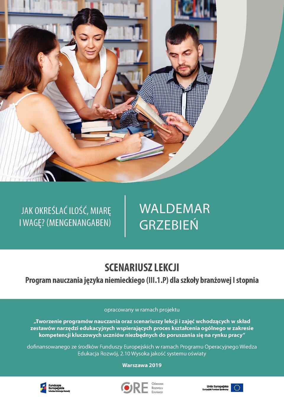 Pobierz plik: Scenariusz 5 Grzebień SB I język niemiecki.pdf