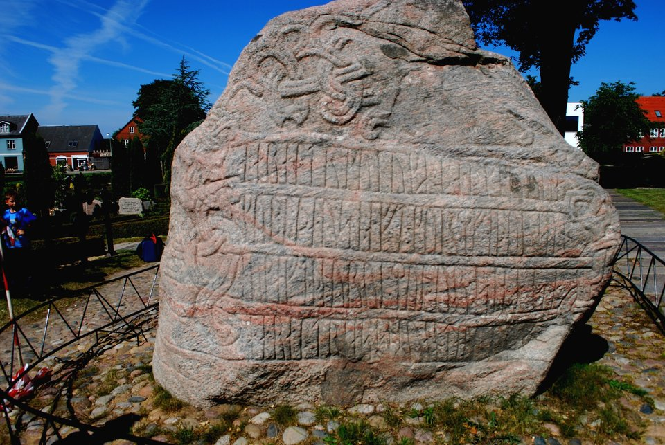 Kamień ruiczny Źródło: Erik Christensen, Kamień ruiczny, licencja: CC BY-SA 3.0.