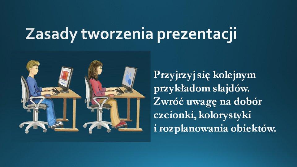 Slajd 1 galerii przykładowych slajdów prezentacji