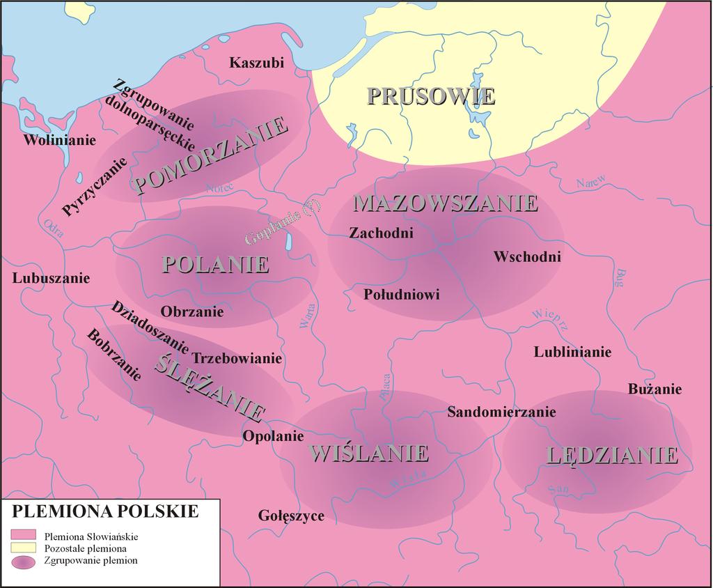 Plemiona Słowiańskie