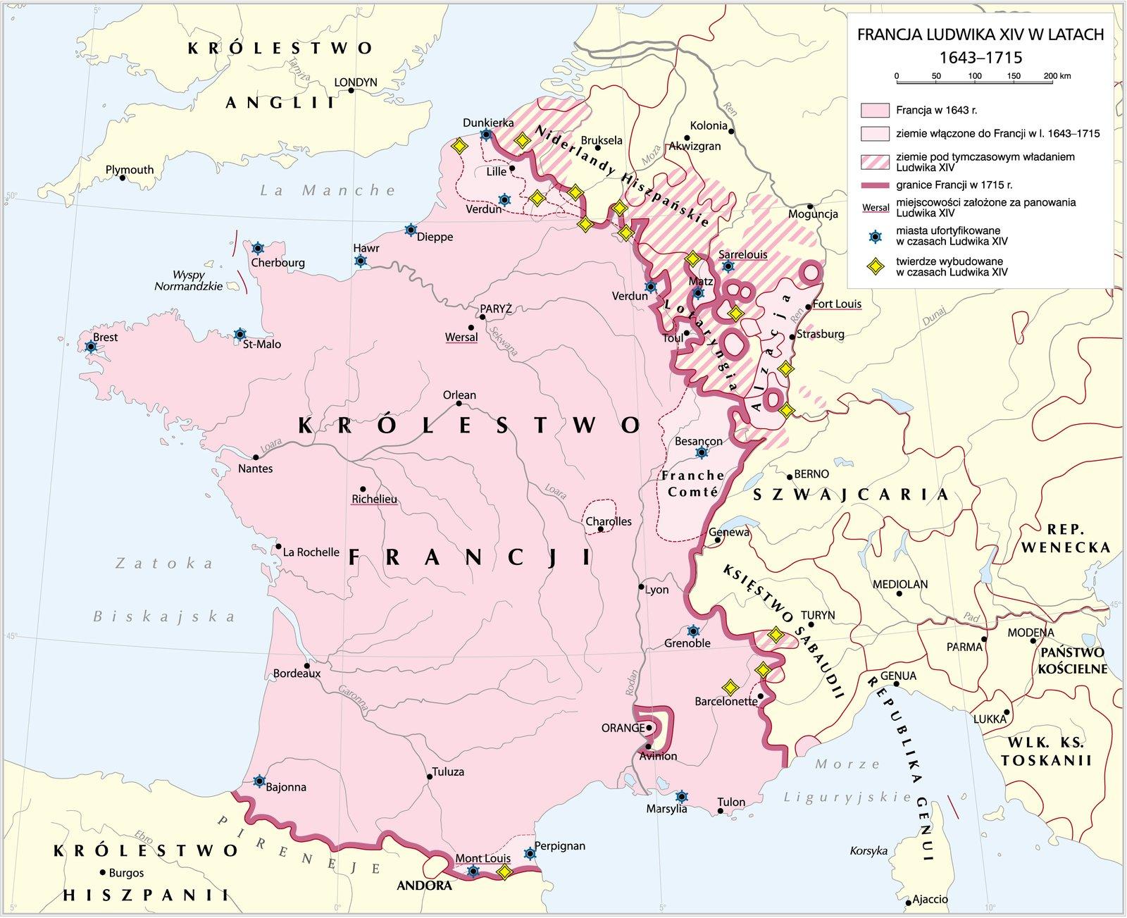 Francja Ludwika XVI Francja Ludwika XVI Źródło: Krystian Chariza izespół, licencja: CC BY-SA 3.0.