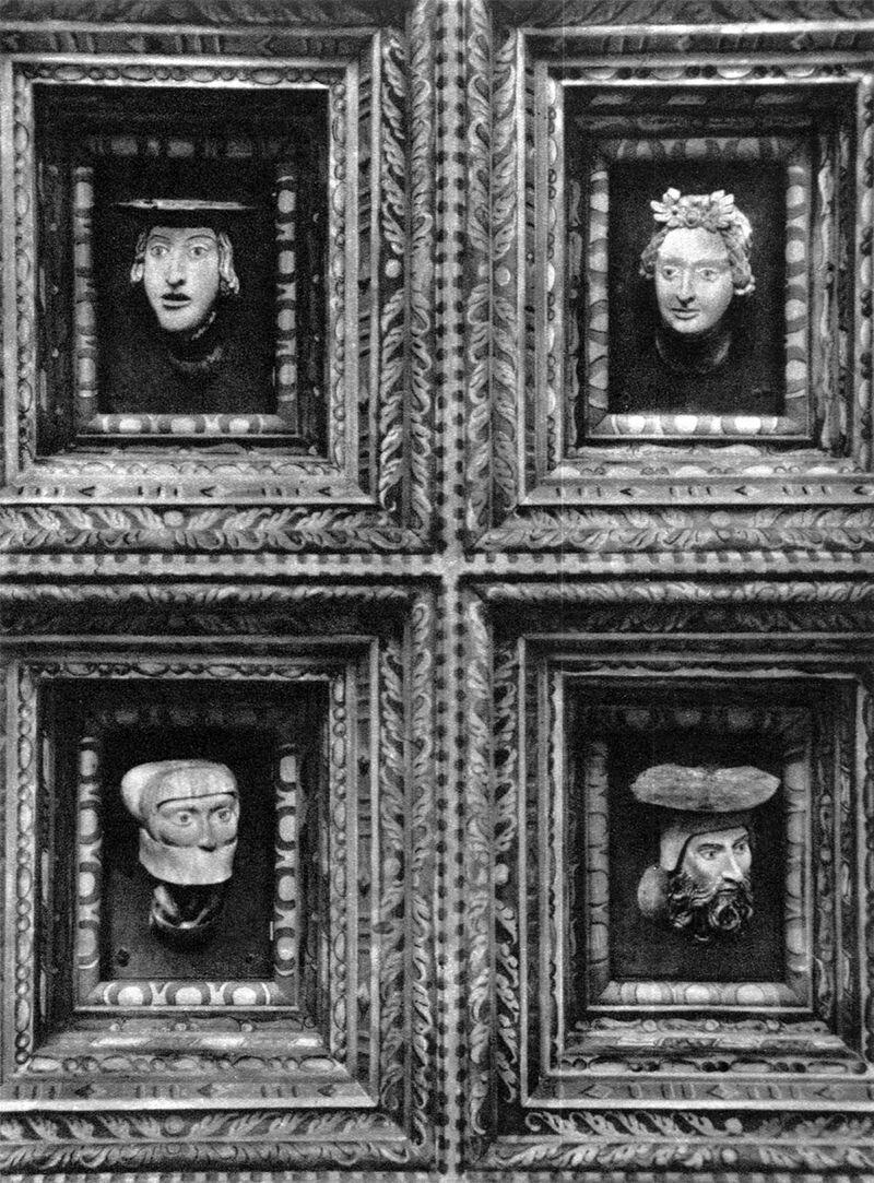 Głowy wsali poselskiej Źródło: Głowy wsali poselskiej , domena publiczna.