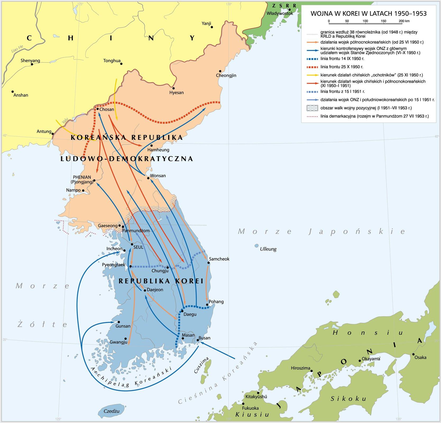 Wojna wKorei Wojna wKorei Źródło: Krystian Chariza izespół.