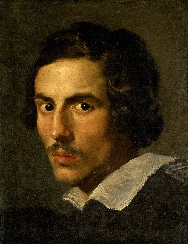 Autoportret Źródło: Gianlorenzo Bernini, Autoportret, ok. 1623, olej na płótnie, Galleria Borghese, domena publiczna.