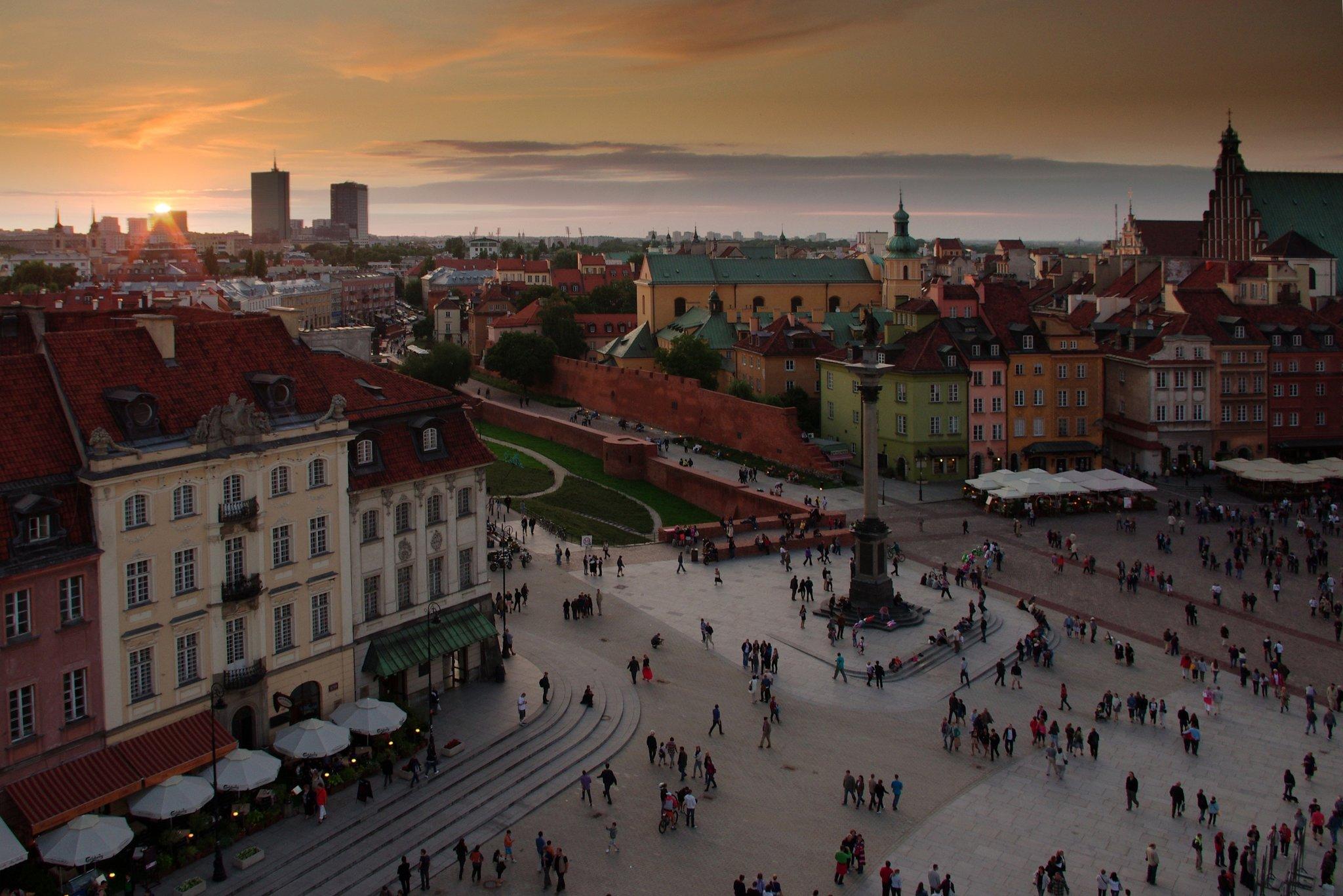 Warszawa Warszawa Źródło: www.pixabay.com, fotografia barwna, domena publiczna.