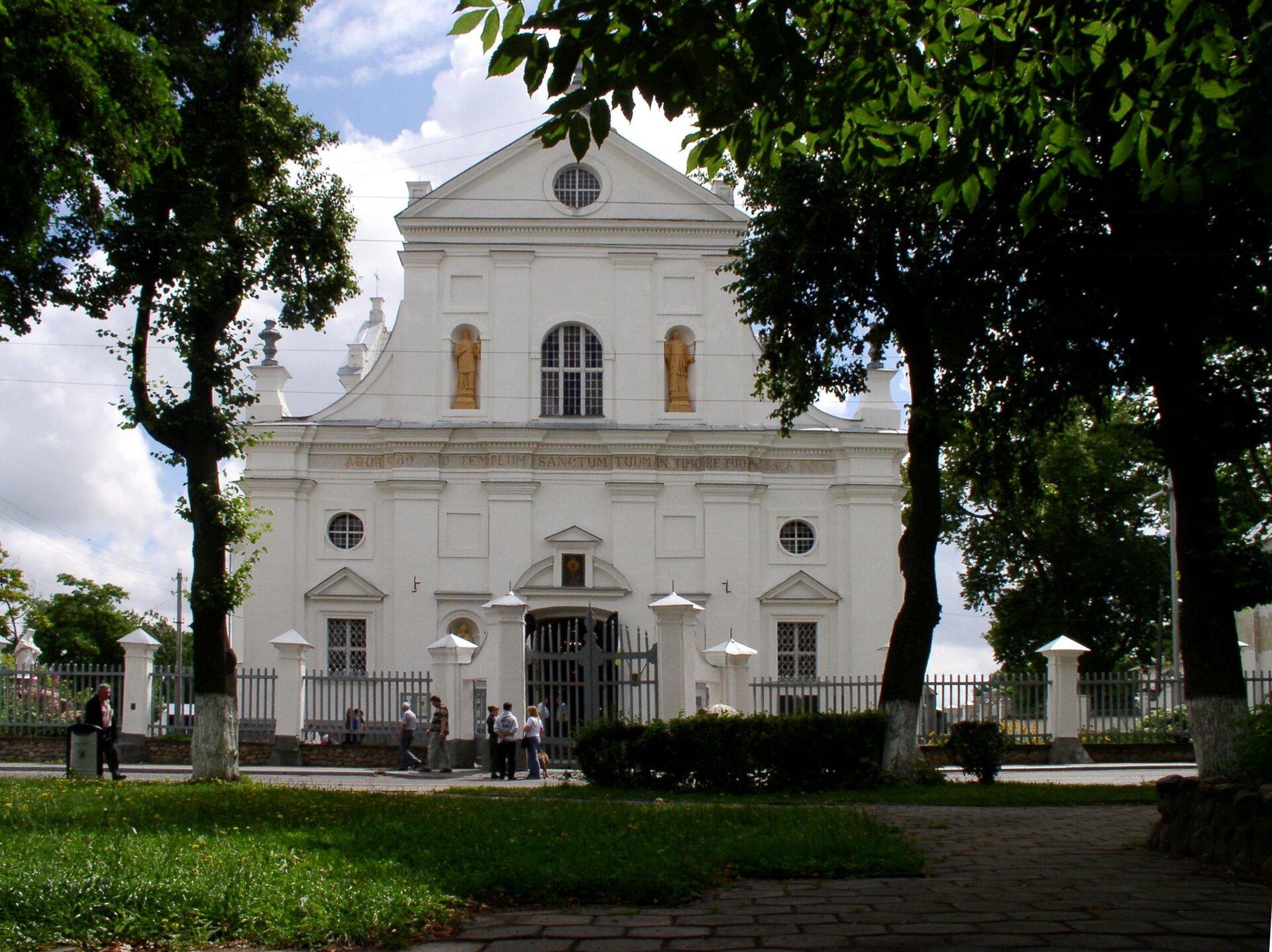 Kościół wNieświeżu Kościół wNieświeżu Źródło: Alex Zelenko, Wikimedia Commons, licencja: CC BY-SA 4.0.