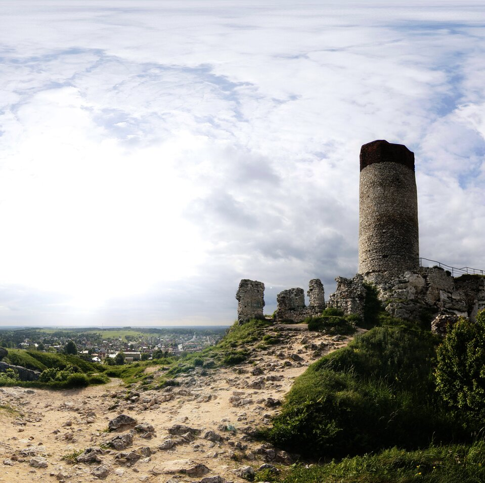 Wycieczka wirtualna po zamku wOlsztynie
