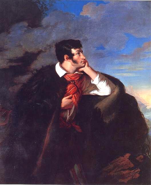 Portret Adama Mickiewicza Źródło: Walenty Wańkowicz, Portret Adama Mickiewicza, 1827-1828, olej na płótnie, domena publiczna.