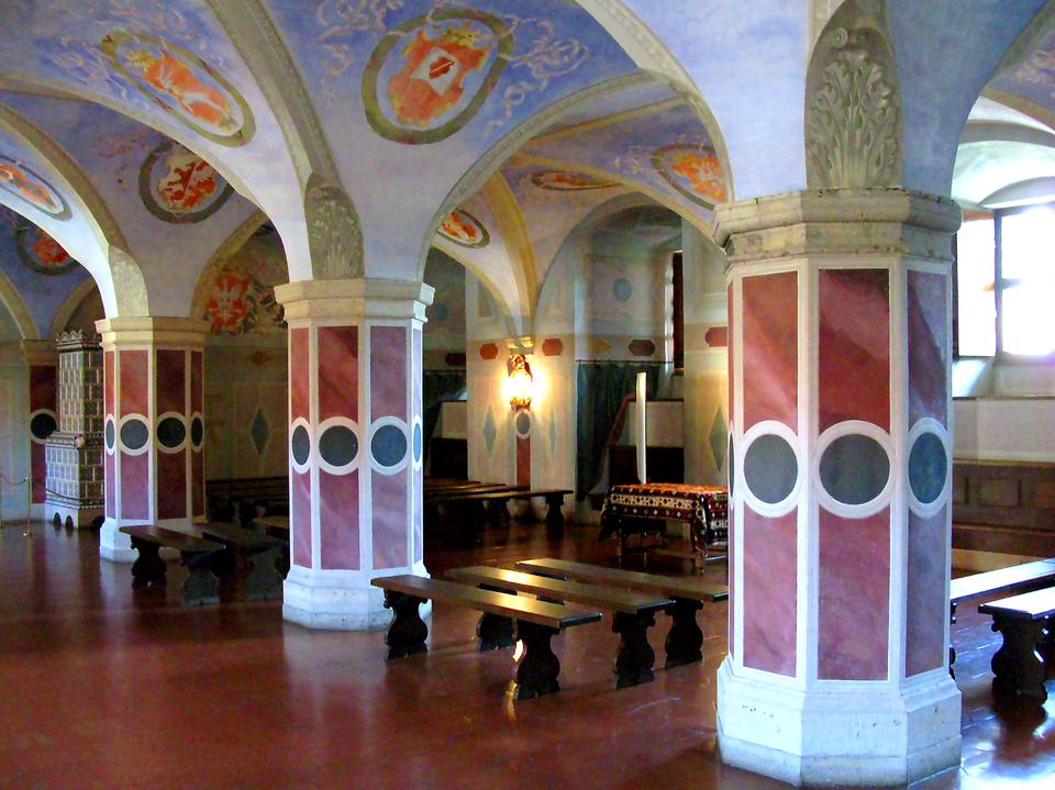 Izba poselska wZamku Królewskim wWarszawie