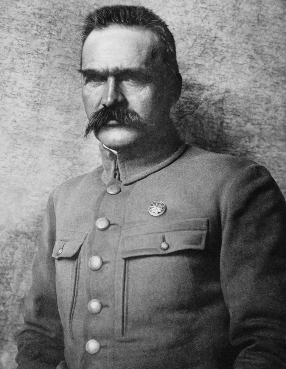 Józef Piłsudski Józef Piłsudski Źródło: domena publiczna.