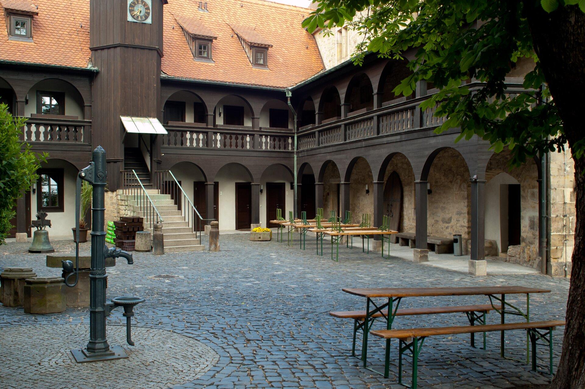 Klasztor Augustianów wWittenberdze Klasztor Augustianów wWittenberdze Źródło: Alupus, Wikimedia Commomns, licencja: CC BY-SA 3.0.