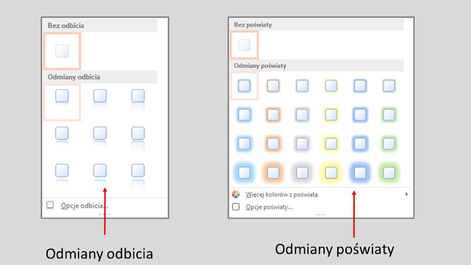 Slajd 7 galerii: Formatowanie przycisków akcji wprogramie MS PowerPoint