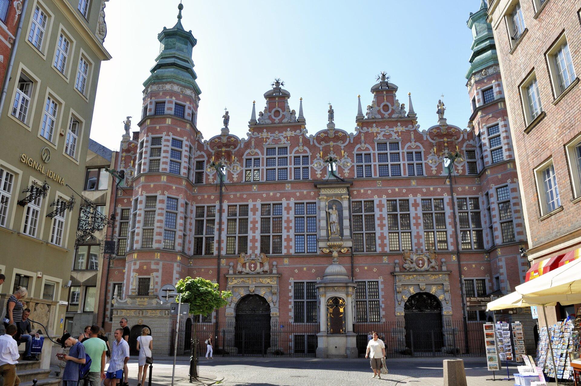 Gdańsk – Wielka Zbrojownia Gdańsk – Wielka Zbrojownia Źródło: DerHexer, Wikimedia Commons, licencja: CC BY-SA 3.0.