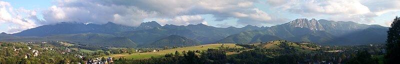 Widok na Zakopane Widok na Zakopane Źródło: licencja: CC BY 3.0.