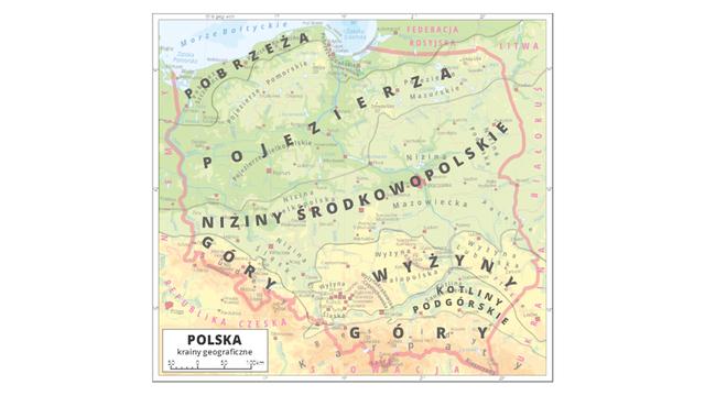 Regiony Polski Podsumowanie Epodrecznikipl