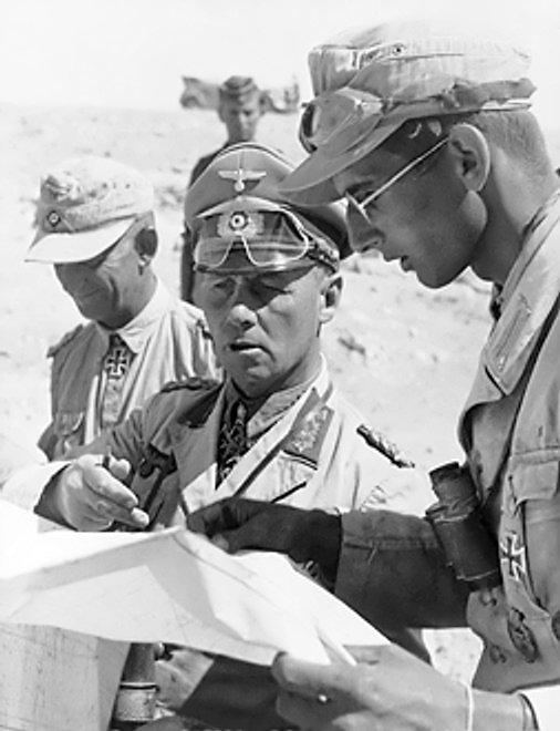 Erwin Rommel Źródło: Otto, Erwin Rommel, Bundesarchiv, licencja: CC BY-SA 3.0.