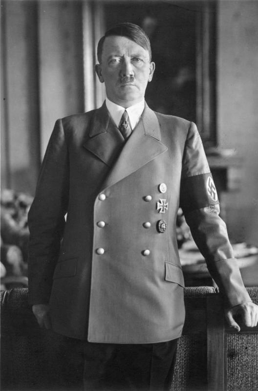 Adolf Hitler Adolf Hitler Źródło: Das Bundesarchiv, licencja: CC BY-SA 3.0.