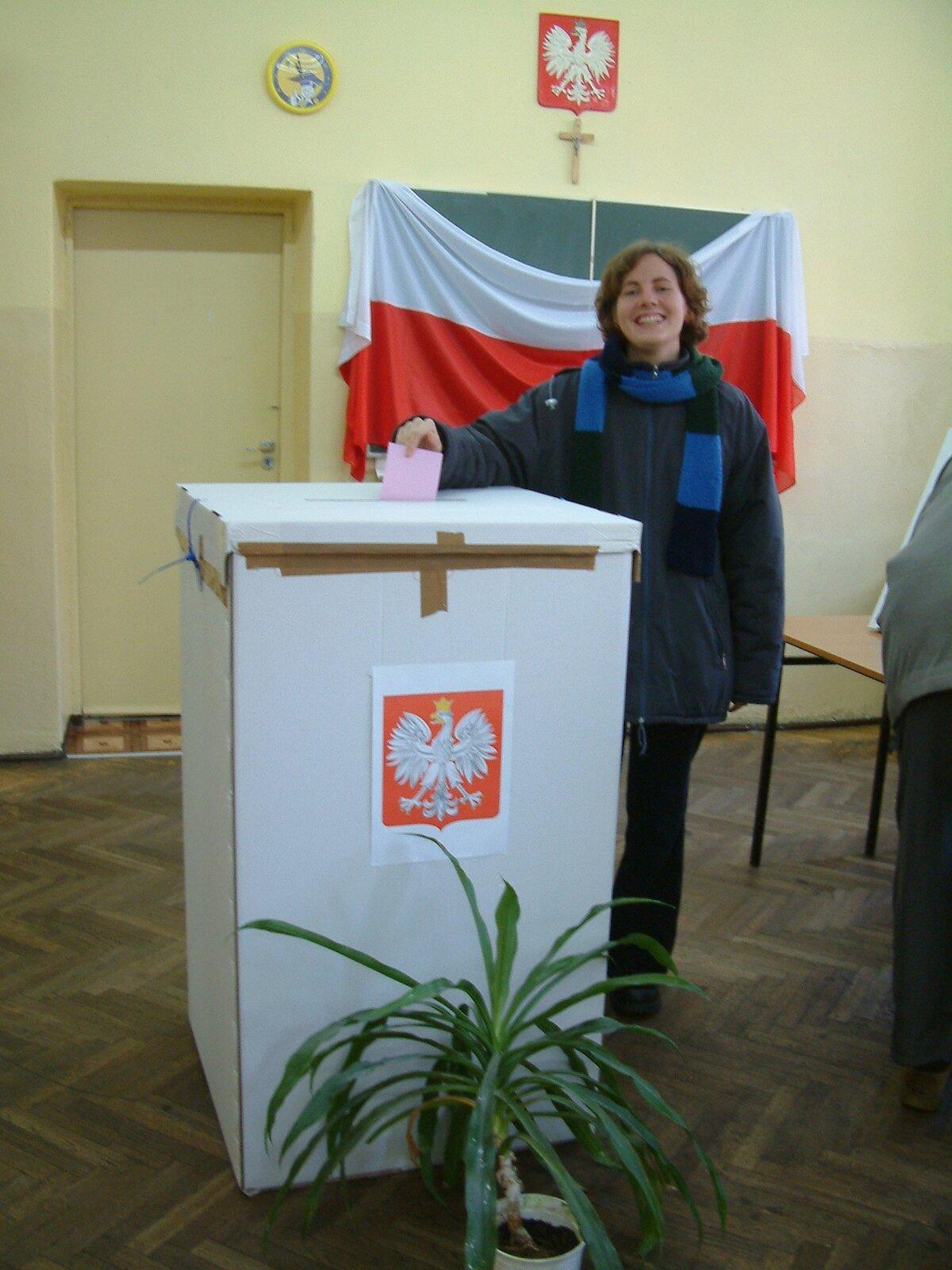 Wybory samorządowe 2006 wPoznaniu Źródło: Radomil, Wybory samorządowe 2006 wPoznaniu, licencja: CC BY-SA 3.0.