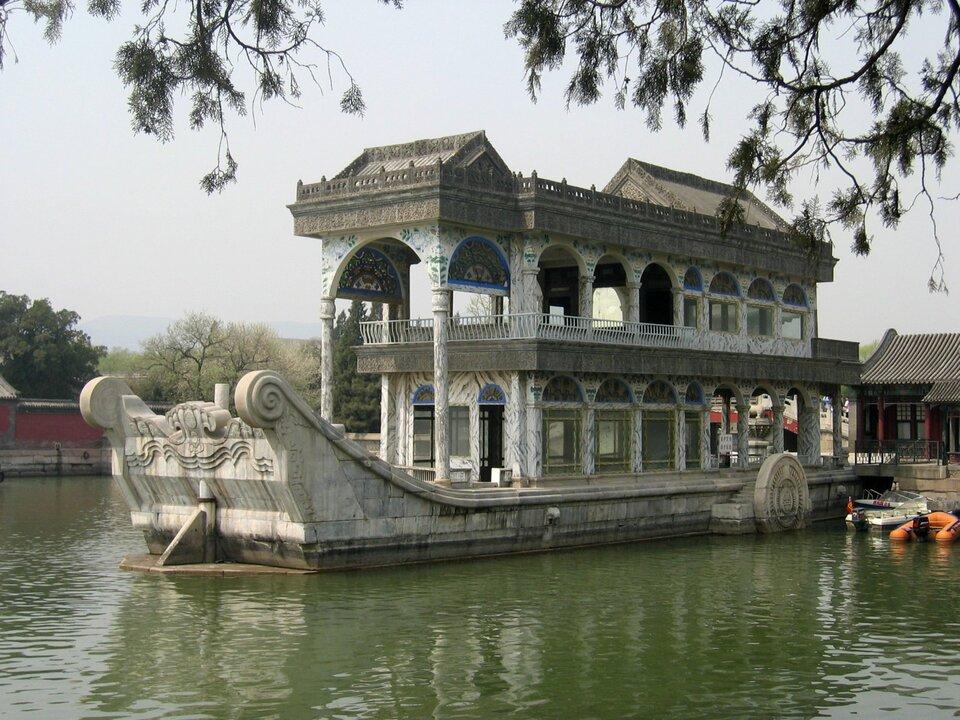 Marmurowa łódź (Chiny)