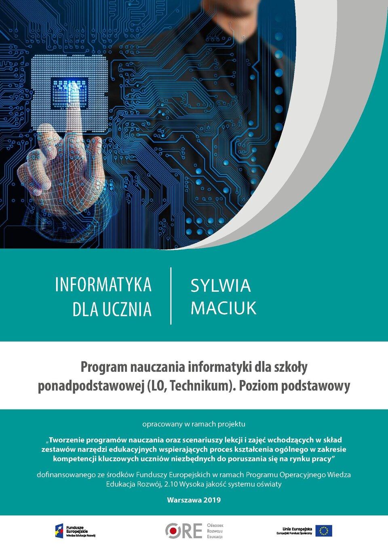 Pobierz plik: Program Maciuk SPP Informatyka podstawowy.pdf