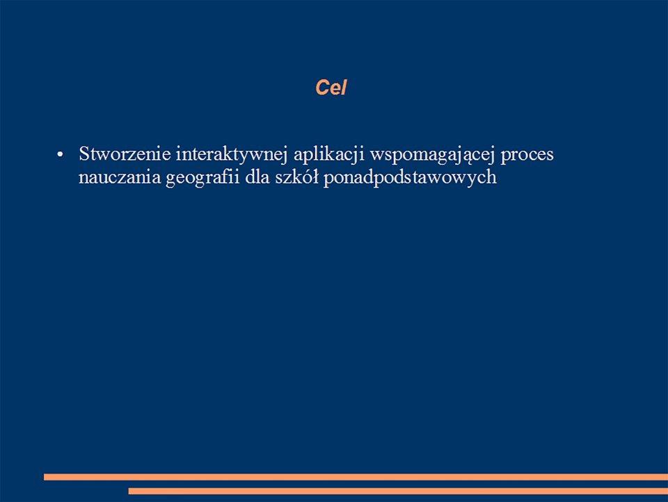 Ilustracja slajdu zumieszczonym celem projektu