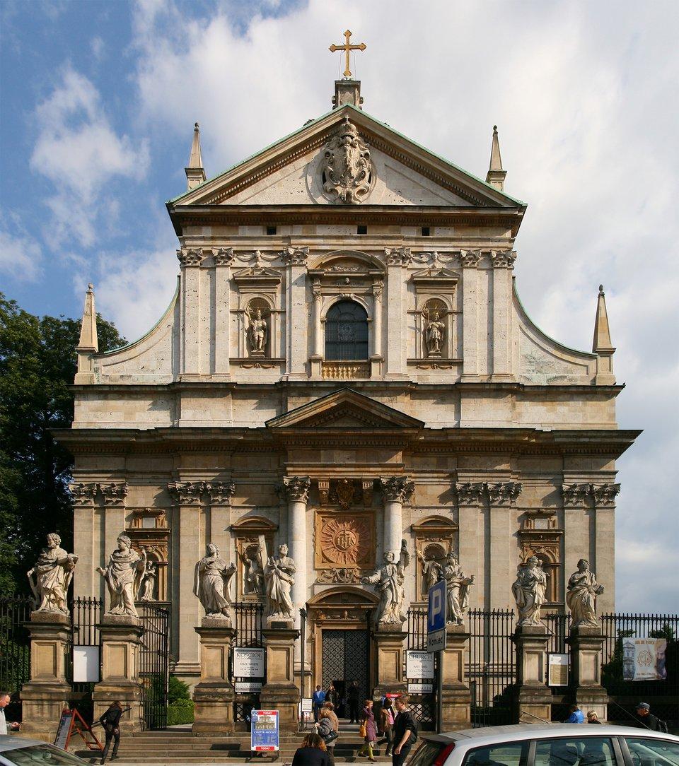 Kościół św. Piotra iPawła wKrakowie Kościół św. Piotra iPawła wKrakowie Źródło: Jan Mehlich, Wikimedia Commons, licencja: CC BY-SA 3.0.