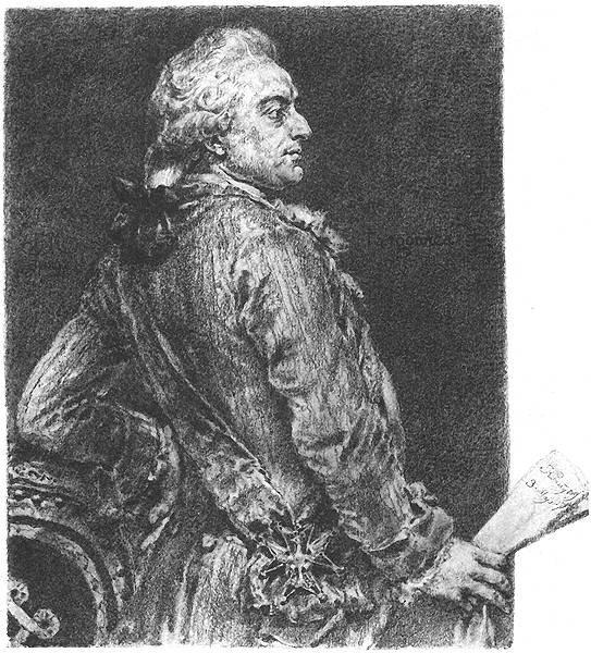 Stanisław August Poniatowski Źródło: Jan Matejko, Stanisław August Poniatowski, 1890-1892, domena publiczna.