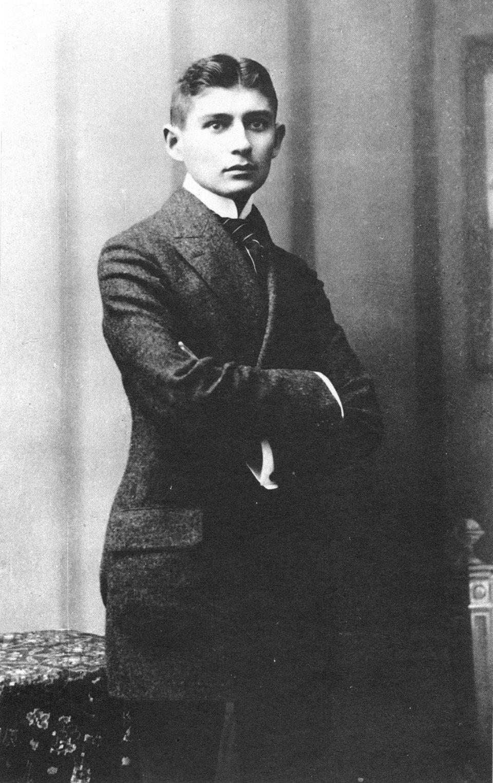 Franz Kafka - fotografia Źródło: licencja: CC 0.