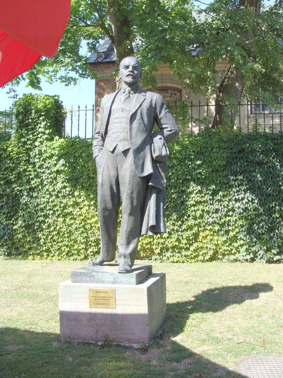Pomnik Lenina Pomnik Lenina Źródło: domena publiczna.