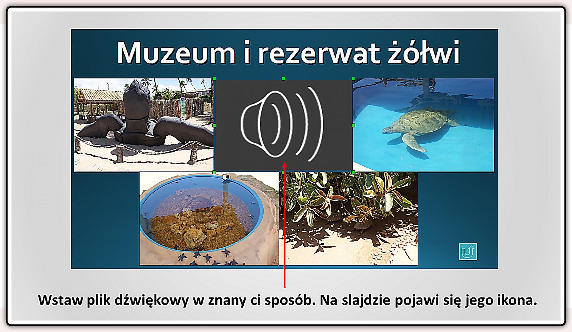Slajd 5 galerii slajdów pokazu: Nagrywanie komentarza do prezentacji wprogramie LibreOffice Impress