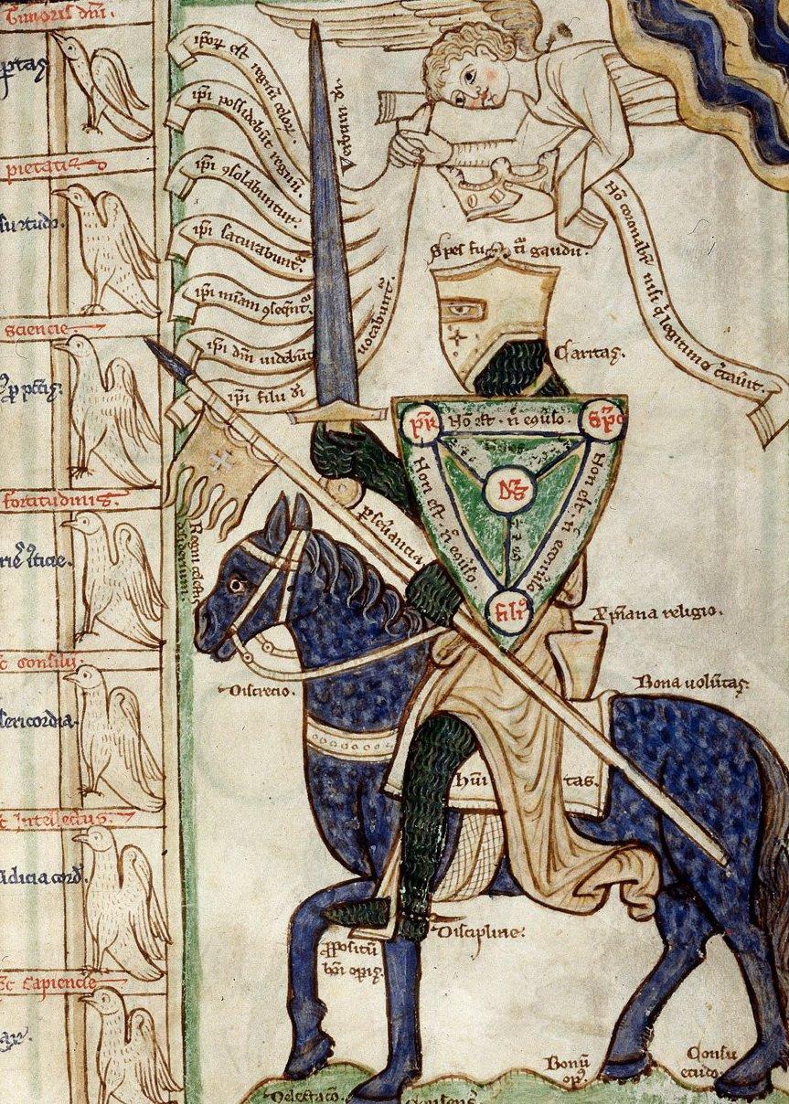 Summa de virtutibus et vitiis Źródło: Guilelmus Peraldus, Summa de virtutibus et vitiis, domena publiczna.
