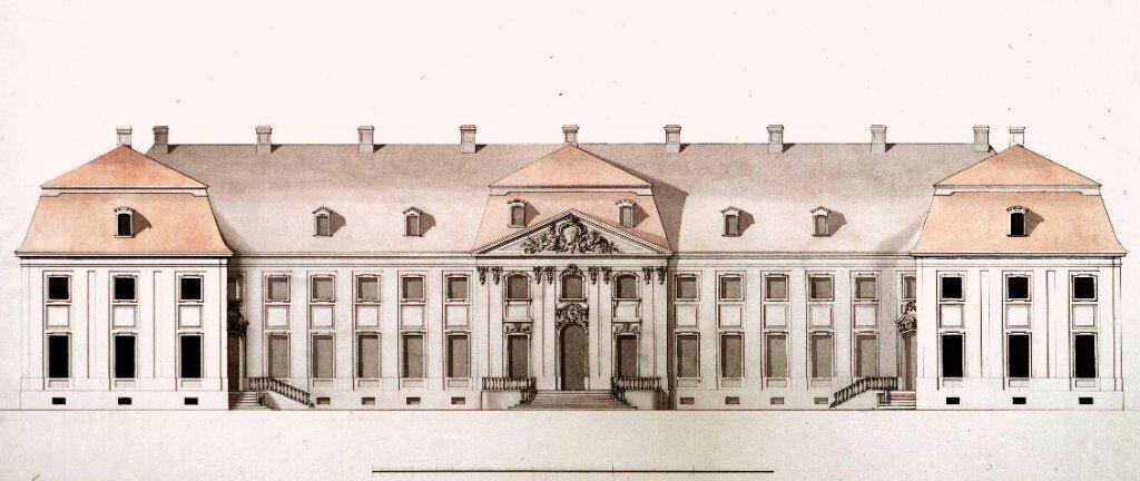 Nowy zamek wGrodnie Nowy zamek wGrodnie Źródło: domena publiczna.