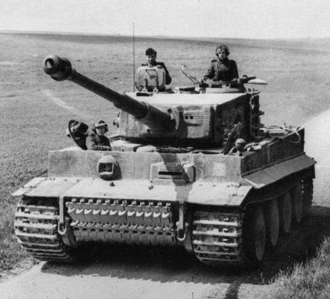 Panzerkampfwagen VI Tiger, niemiecki czołg ciężki zokresu II wojny światowej. Źródło: licencja: CC BY-SA 3.0.