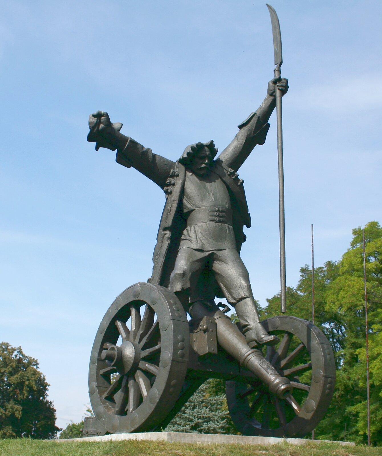 Pomnik Bartosza Głowackiego wJanowiczkach Pomnik Bartosza Głowackiego wJanowiczkach Źródło: WikimediaCommons/Przykuta, licencja: CC BY-SA 3.0.