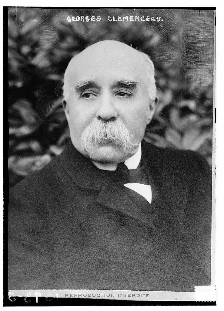 Georges Clemenceau Źródło: Georges Clemenceau, Fotografia.