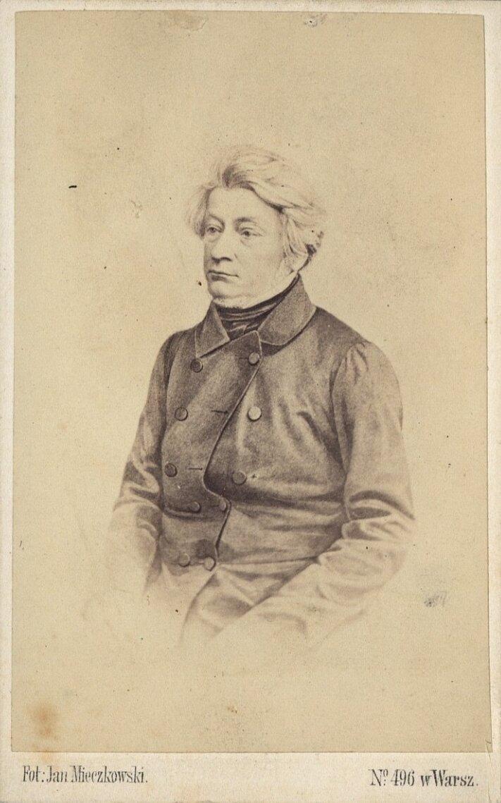 Adam Mickiewicz - ilustracja biogram Źródło: domena publiczna.