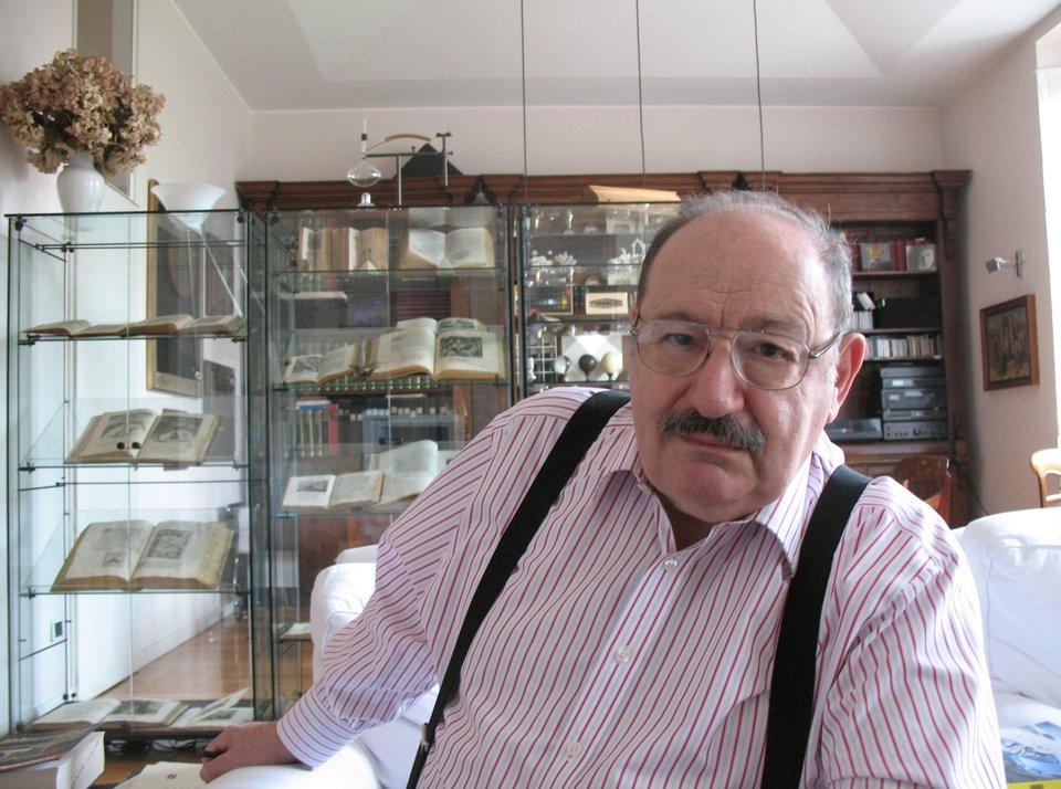 Umberto Eco Źródło: Aubrey, licencja: CC BY-SA 1.0.