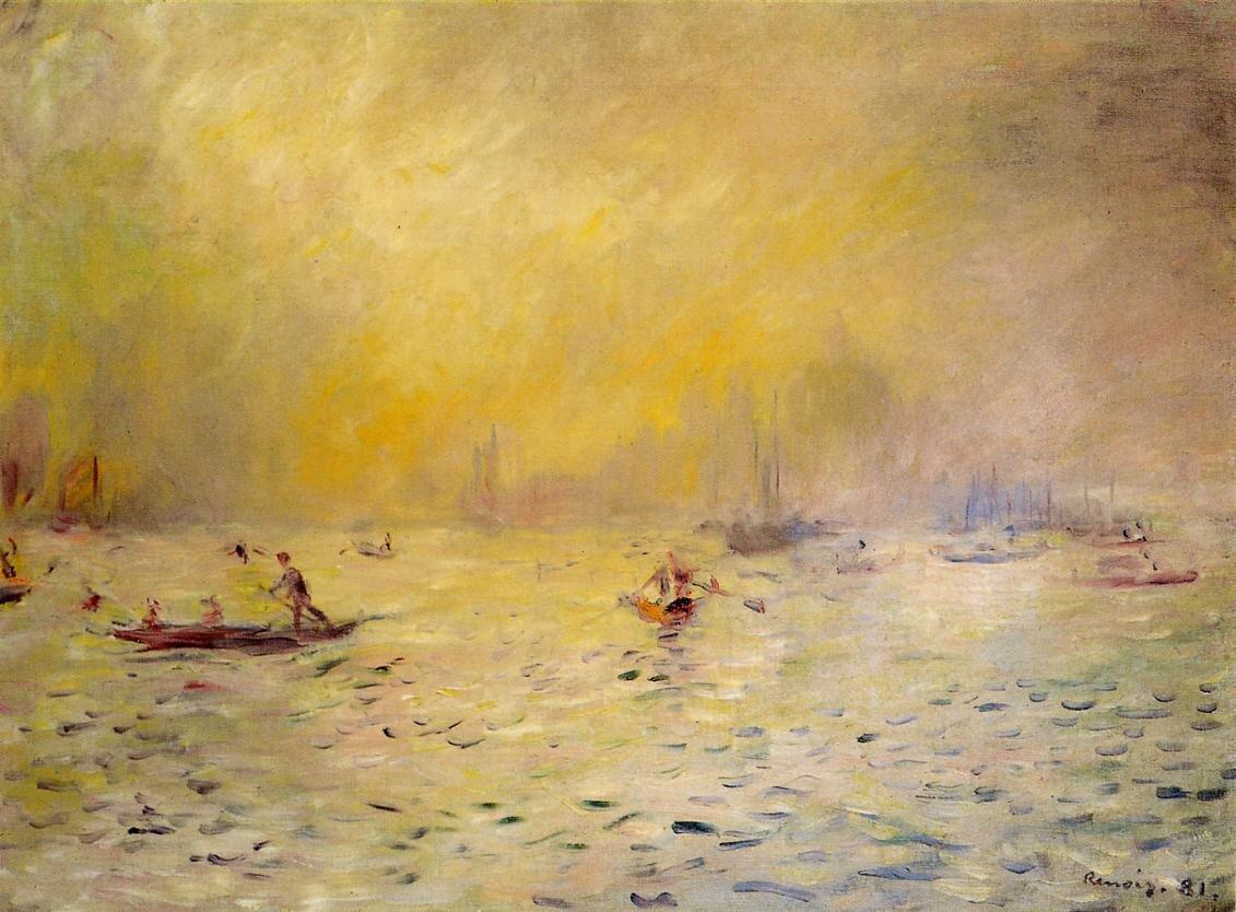 Widok Wenecji Źródło: Pierre-Auguste Renoir, Widok Wenecji, 1881, Kreeger Museum, domena publiczna.
