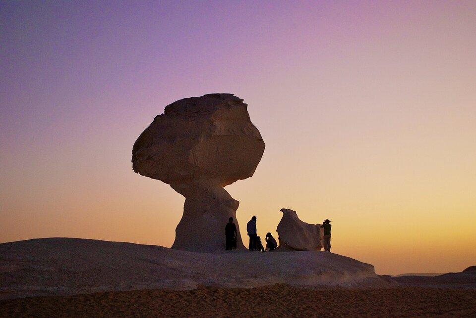 Formacja skalna grzyb