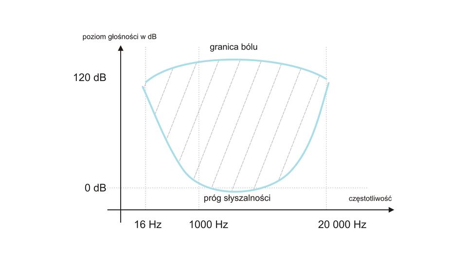 Zakres słyszalności ludzkiego ucha