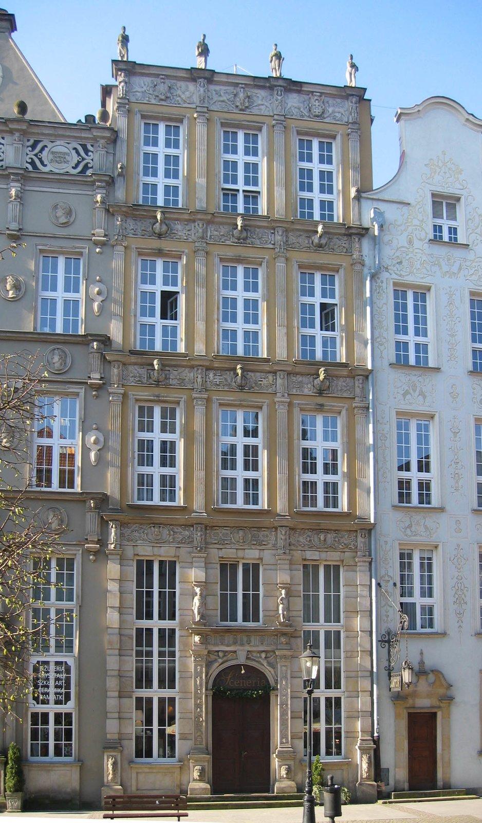 Gdańsk – kamienica Faberów Gdańsk – kamienica Faberów Źródło: Pumeks, domena publiczna.