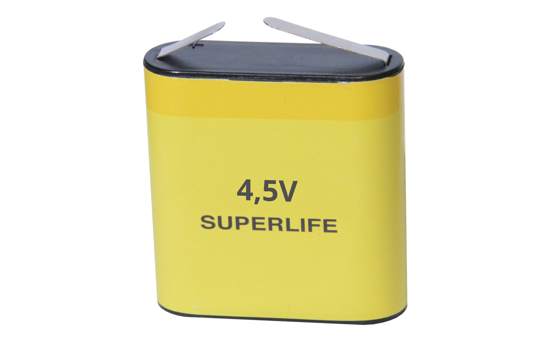 "Bateria onapięciu 4,5V (tzw. bateria ""płaska"")"