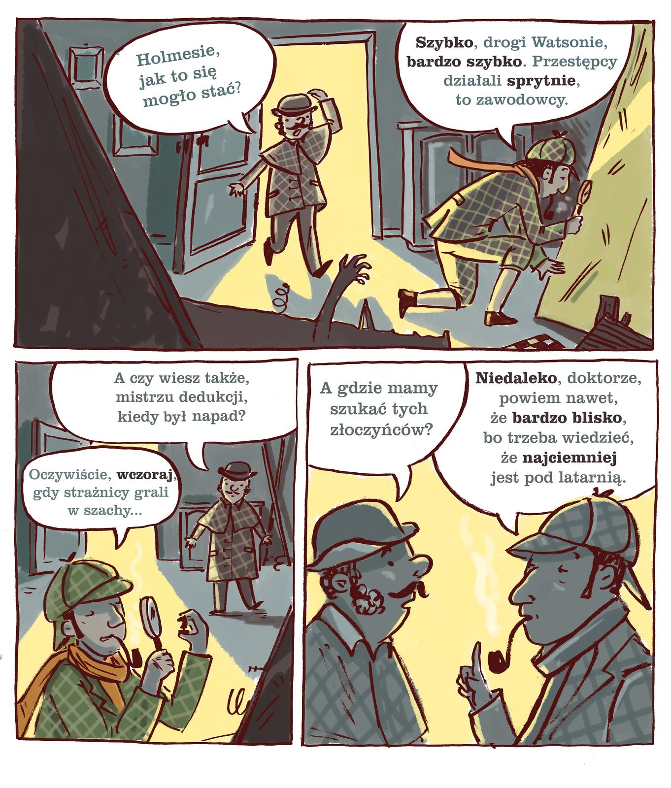 komiks holmes idr watson