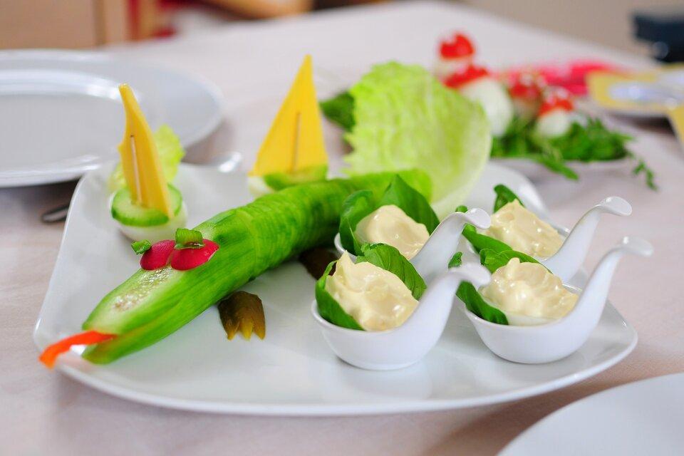 Food design2 Źródło: www.pixabay.com, fotografia barwna, domena publiczna.