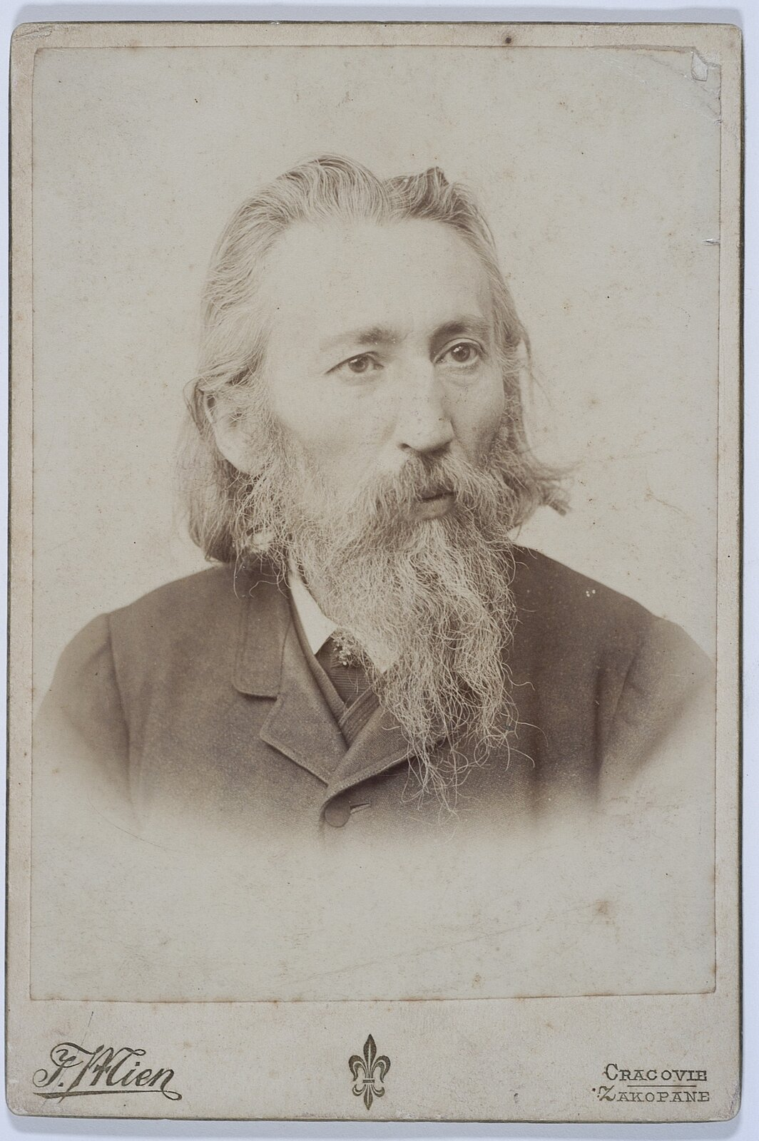 Jak Matejko - portret Źródło: Biblioteka Narodowa, licencja: CC 0.