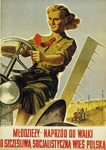 plakat PRL Źródło: domena publiczna.