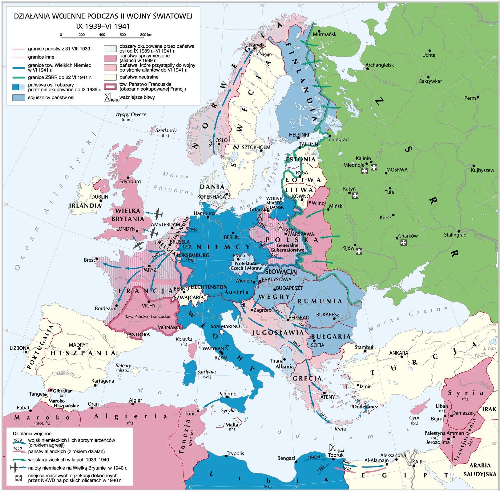 Podboj Europy Przez Stalina I Hitlera Epodreczniki Pl