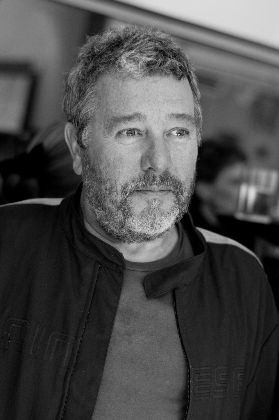 Philippe Starck Philippe Starck Źródło: jikatu, fotografia czarno-biała, licencja: CC BY-SA 2.0.