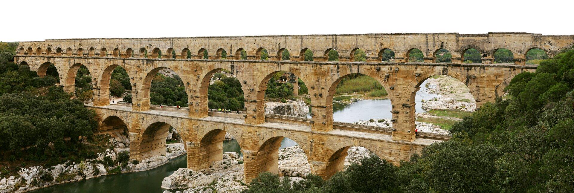 Rzymski akweduktPont du Gard we Francji Rzymski akweduktPont du Gard we Francji Źródło: Benh LIEU SONG, Wikimedia Commons, licencja: CC BY-SA 3.0.