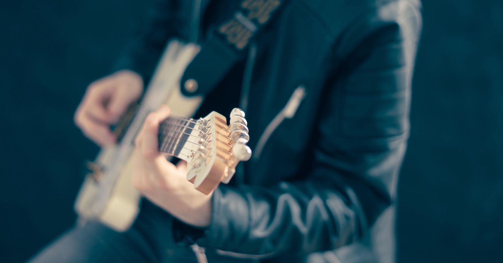 gitara Źródło: licencja: CC 0.